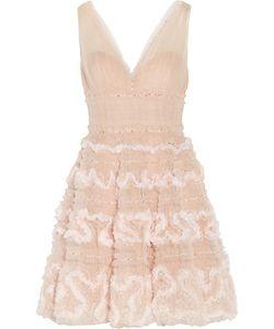 Marchesa Notte | Sequin-Embellished Tulle Mini Dress