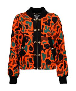 Moschino | Printed Quilted Crepe Jacket