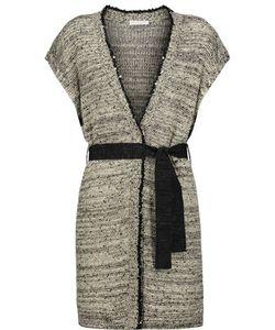Brunello Cucinelli | Sequin-Embellished Hemp Linen And Silk-Blend Cardigan
