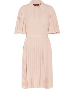 Giambattista Valli | Pleated Crepe Dress