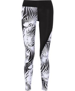Live The Process | Paneled Printed Stretch-Jersey Leggings