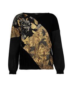Raoul | Paneled Cloqué Velvet And Cady Sweatshirt