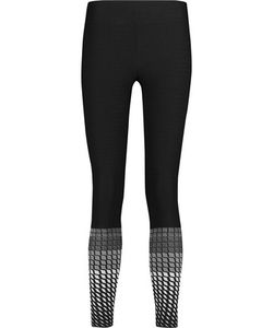 Koral | Gradient Textured Stretch-Knit Leggings