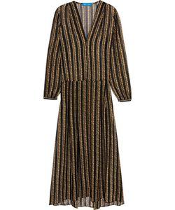 M.i.h Jeans | Cornflower Print Silk-Chiffon Midi Dress