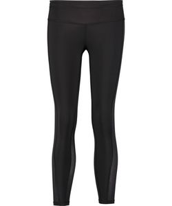 ATHLETIC PROPULSION LABS | Mesh-Paneled Stretch-Jersey Leggings