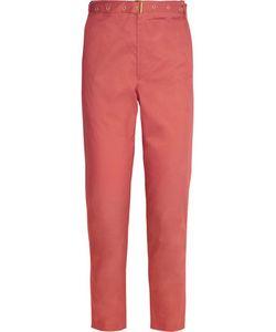 Isabel Marant | Cotton-Poplin Straight-Leg Pants