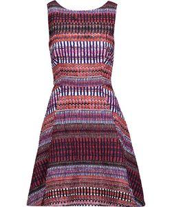 Saloni | Jess Printed Cloqué Mini Dress