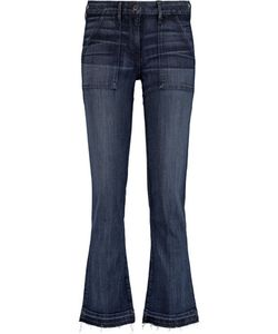 3X1 | Mid-Rise Faded Bootcut Jeans