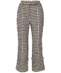 Erdem | Verity Cotton-Blend Tweed Straight-Leg Pants