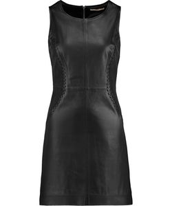 J Brand | Elara Leather Mini Dress