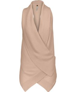 Soyer | Racer Wrap-Effect Cashmere Top