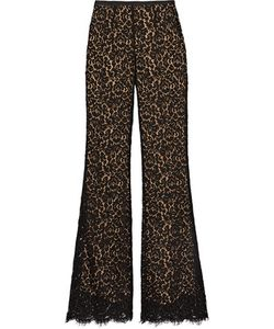 Michael Kors Collection | Corded Cotton-Blend Lace Flared Pants