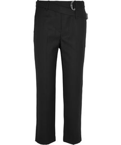 3.1 Phillip Lim | Cropped Wool-Gabardine Straight-Leg Pants