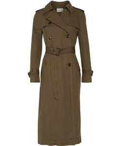 Étoile Isabel Marant | Maden Cotton And Linen-Blend Trench Coat