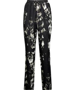 Roberto Cavalli | Printed Silk Crepe De Chine Tapered Pants