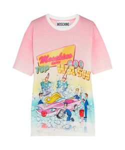 Moschino | Printed Cotton-Jersey T-Shirt