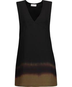 A.L.C. | Eliott Ombré Silk Crepe De Chine Mini Dress