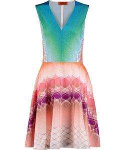 Missoni | Flared Jacquard-Knit Dress
