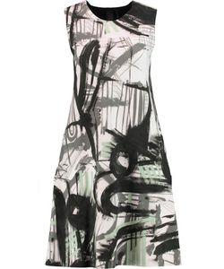 Norma Kamali | Printed Stretch-Jersey Dress