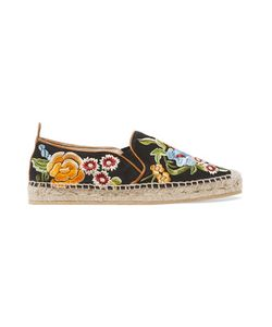 Etro | Embroidered Twill Espadrilles