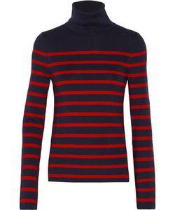 Equipment | Wilder Striped Silk-Blend Turtleneck Sweater