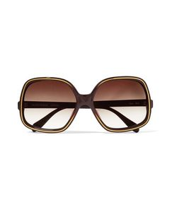 Oliver Peoples | Talya Square-Frame Acetate Sunglasses