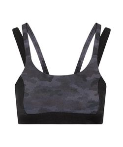 Purity Active | Paneled Printed Stretch Sports Bra