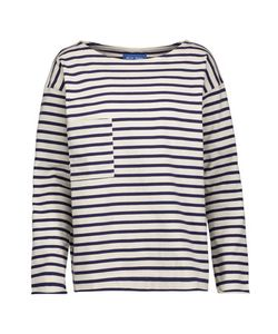 M.i.h Jeans | Striped Cotton Top Off-