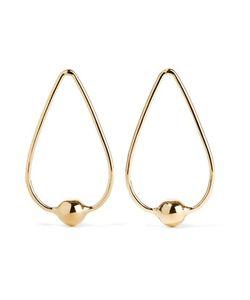Jennifer Fisher | Orb Drop Plated Earrings
