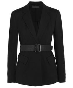 Donna Karan New York | Essentials Belted Ponte-Jersey Blazer