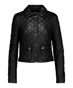 Michael Kors Collection | Plong Quilted Leather Jacket