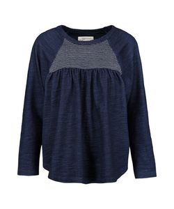 Current/Elliott | Shirred Paneled Cotton Top