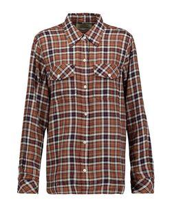 Current/Elliott | The Perfect Plaid Cotton-Blend Shirt