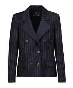 Roberto Cavalli | Pinstriped Wool-Blend Blazer