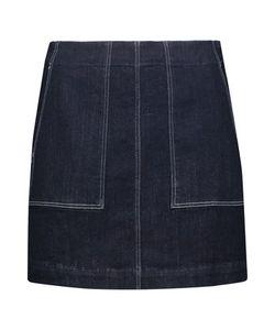 3X1   W3 Denim Mini Skirt