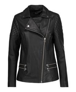 Muubaa | Boxkite Leather Biker Jacket