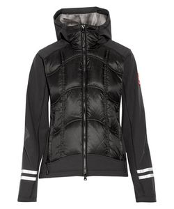 Canada Goose | Hybridge Jersey-Paneled Quilted Shell Hooded Down Jacket