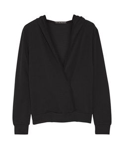 Live The Process   Stretch-Supplexreg Hooded Wrap-Effect Top
