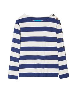 M.i.h Jeans | Striped Cotton-Jersey Top