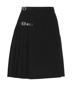 J.W.Anderson | Wrap-Effect Pleated Twill Skirt
