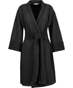 Skin   Stretch-Cotton Robe