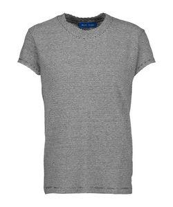 M.i.h Jeans   Range Striped Cotton And Linen-Blend T-Shirt