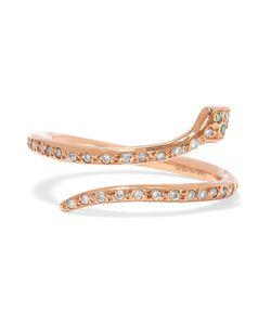 Ileana Makri | Small Python 18-Karat Diamond Ring