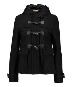Michael Kors Collection | Wool-Blend Felt Hooded Duffle Jacket