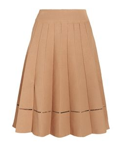 A.L.C. | A.L.C. Nicole Embroidered Stretch-Jersey Skirt