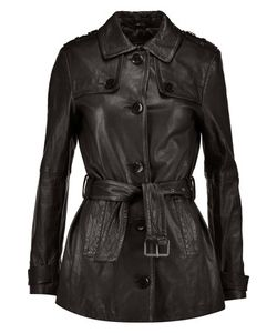 J Brand | Arrow Leather Trench Coat