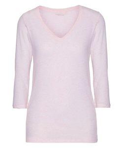 Majestic | Slub Cotton And Cashmere-Blend T-Shirt