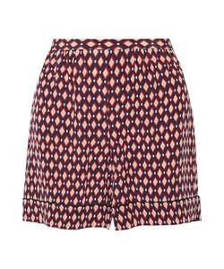 Marc Jacobs | Printed Silk Crepe De Chine Shorts
