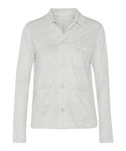 Majestic | Slub Linen And Silk-Blend Jersey Shirt
