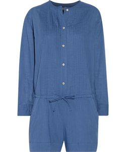 Étoile Isabel Marant | Rodney Pintucked Cotton-Broadcloth Playsuit